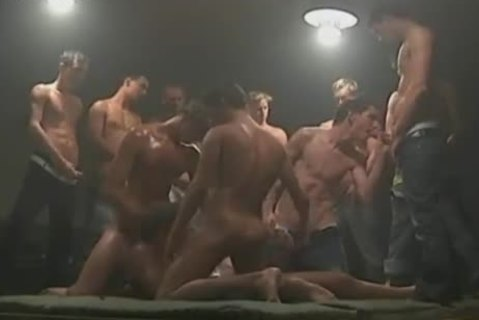 homo gangbang Party