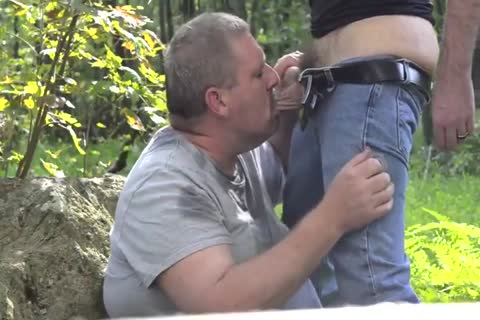 lascivious Chub Daddy take up with the tongue And engulf