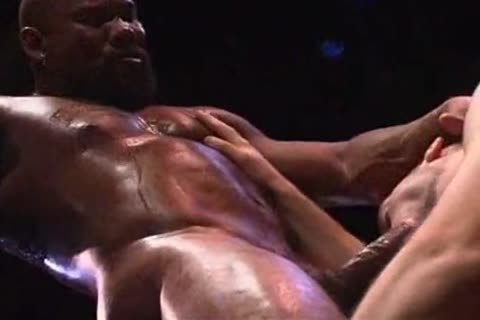 Remy Delaine drilled by Muscled-Up dark man