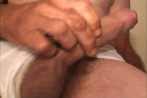 Just A scarcely any Minutes Of A clip I Have, An older ugly man Shows His nice-looking large Uncut messy rod And messy arse