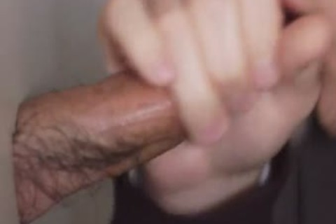 I have Seen a lot of penises, But I have not ever Seen An Intact rod With This Much Hair On It. dude Needs To Trim! Otherwise It Was A worthy rod. that guy Was Real Shy When Anyone Else Walked In The Restroom. I Don?t Know Why twinks Do That? As long
