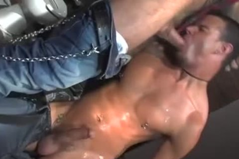 Three homo Pornstars All plowing jointly