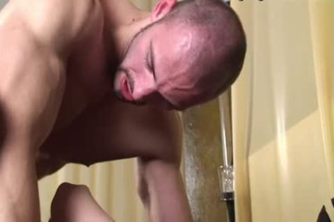 A rock hard homosexual lad bonks A lad Hard In The ass!