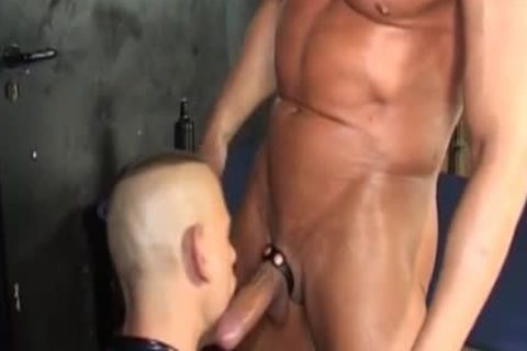 bare dril And cum swallow