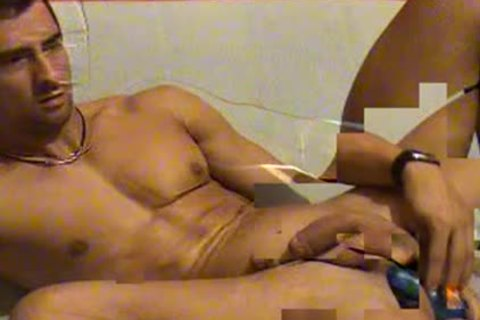Hunk sperm In mouth webcam - greater quantity Cams On H