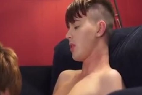 two twinks fucking On The Sofa