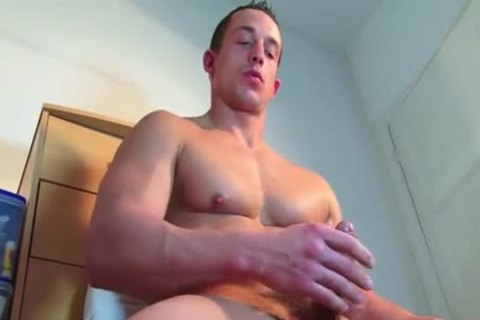 A worthwhile innocent str8 lad Serviced His large 10-Pounder By A lad In Spite Of Him!