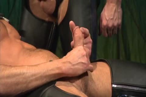 Leather pounding And Fisting: Colin Steele & Rick Van Sant