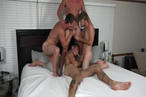 A couple AND TWO allies hammering ON web camera