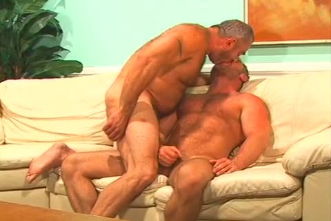 daddy fellow Bending Over Rear Plugged
