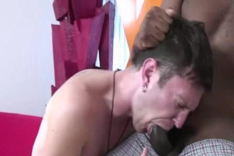 Luke Cross Makes Quick specie By banging A dark lad