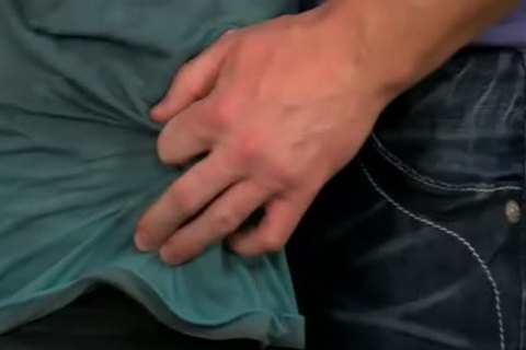gigantic Manly Hunk Mitch Vaughn pokes The sperm Out Of Kyler Moss