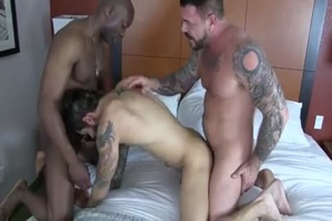 Champ Robinson, Draven Torres, Rocco Steele - Awesom 3some raw