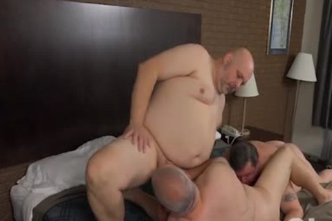 banging His Blistering fat Bumhole