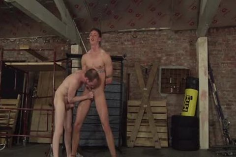 Sean Taylor Teaching Billy A Harsh arse Lesson In Dungeon