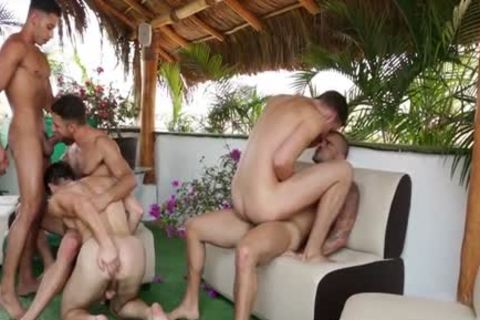 large group Of Sizzling gays Go Keister To Face hole And Go All The Way Some Great Cumshots