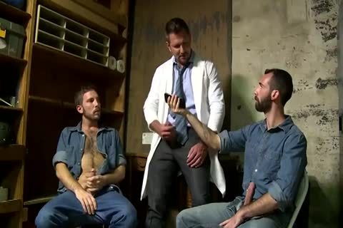 2 Fit daddy men Greek Gods In Rehab Doing The enchanting Doctor After Therapy