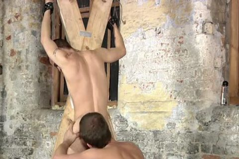 Tattoo twinks Domination And ball batter flow