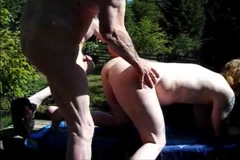 young Redhead bare With old dude