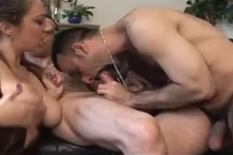 Two French bisexual guys With Marie Lynne