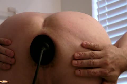 Sissy Kristen Gaping a-hole With biggest Buttplug   And Various dildos
