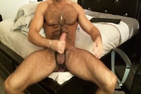 Hunk Sean Zevran toys His butt And Cums On cam