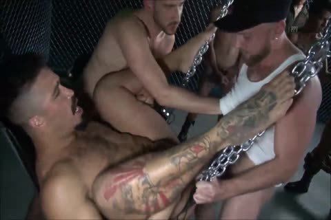 unprotected - The enormous bunch gang-sex - II