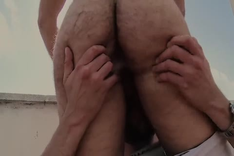 Roof lewd hairy gay Sex