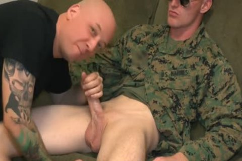 Marine Sgt James irrumation stimulation