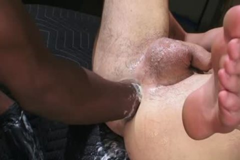 gorgeous homosexual Fetish With cumshot