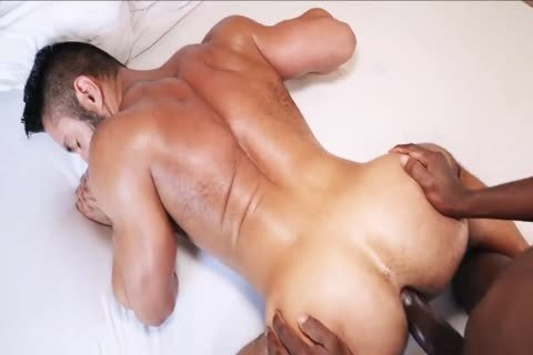 Being fucked By A huge black penis