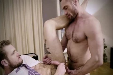 Tattoo gay butthole stab With Creampie