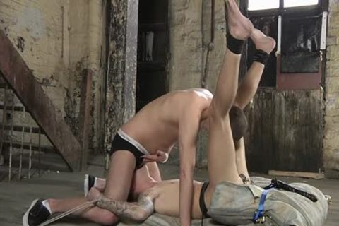 Muscle gay Domination And cumshot