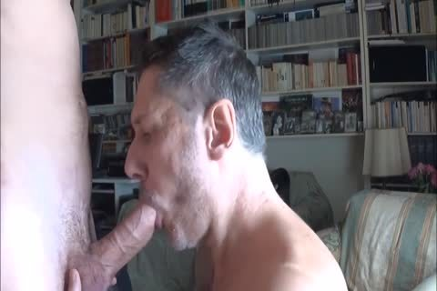daddy Worships Feet And Sucks dick