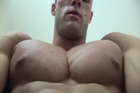 Coty disrobes bare In bathroom