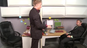 The Annoying Colleague - Diego Vena and Philip Aubrey anal pound