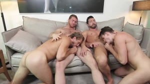 His Royal Highness - Connor Maguire & Jimmy Durano ass plow