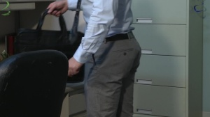 Office Party Regrets - Rocco Reed with Liam Magnuson ass bang