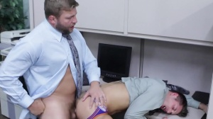 recent Cubicle mate - Jd Phoenix and Colby Jansen butthole Hook up