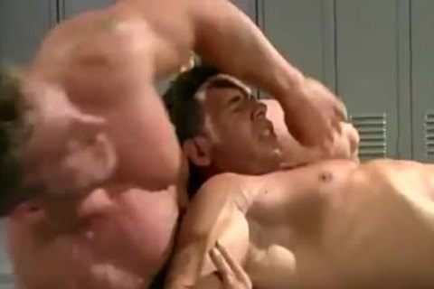 Billy And Mark Wrestle
