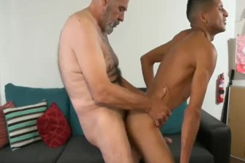 old chap fuck A young