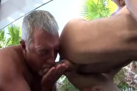 three-some With Two daddy guys Daddy 1