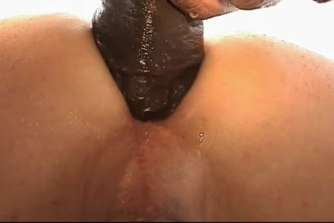 The Buttlover S moist BBC Turns On anus Into A pussy