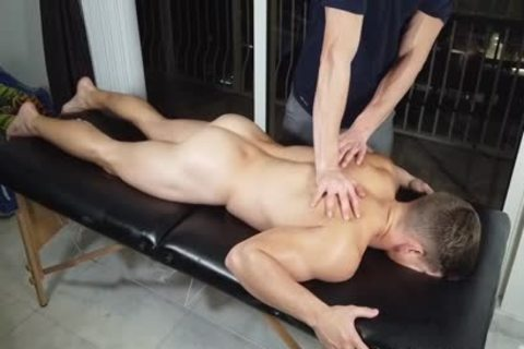 Massaged jack off