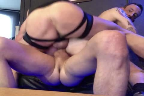 ribald bareback 3way With Double butt Part two