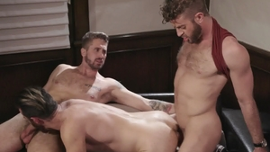 IconMale.com - American Link Parker threesome