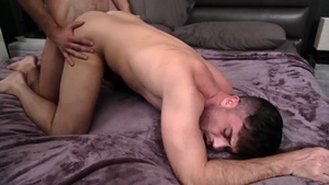 IconMale.com - Hairy Mason Lear agrees to hard pounding