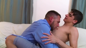 IconMale - Hans Berlin & Kory Houston reality blowjob cum