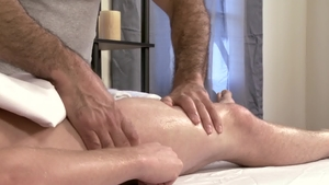IconMale - Hairy Adam Russo anal fucked