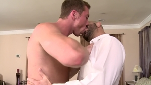 IconMale - Adam Russo impressed by hairy jock Connor Maguire